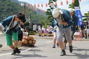 ひのきの里の夏祭り